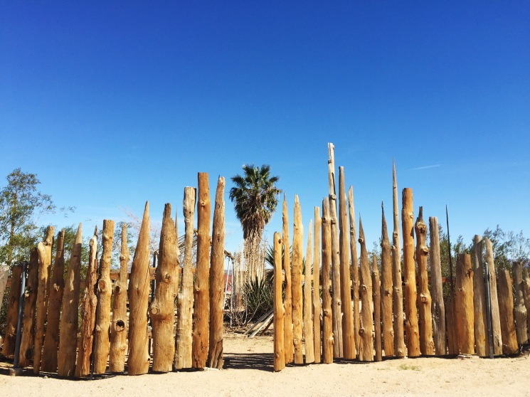 Joshua Tree fence